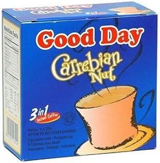 Good Day Carrebian Nut Coffee 100 Gram (3.52 Oz) Instant Hazelnuts Flavor 5-ct @ 20 Gram (Pack of 3)