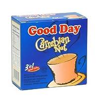 Good$ Day 20グラム(3パック)@グッドデイcarrebianナットコーヒー100グラム(3.52オンス)インスタントヘーゼルナッツ風味5-ct