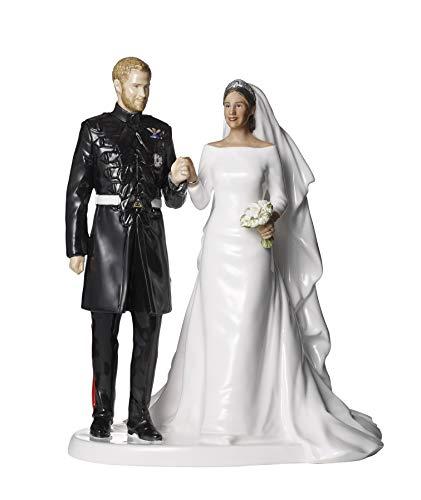 Royal Doulton Commoratives Royal Wedding Prince Harry & Ms Meghan Markle, Porcellana, Multi, 26.5cm