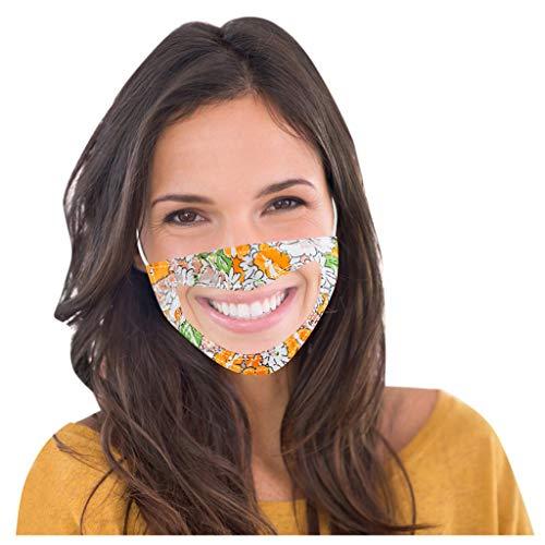 SHUANGA Schutz, Wiederverwendbare Outdoor Unisex, Baumwolle Soft Mundschutz-Multifunktionstuch Waschbare Facecover Face Cover mit Schutzbrille