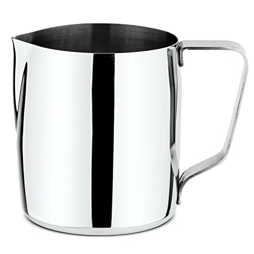 Chef's Star Stainless Steel Frothing Pitcher, 12 Ounce