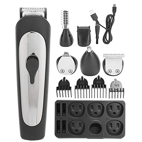 Cortadora de pelo para hombre, cortador de pelo eléctrico multifuncional, juego de cortador de pelo para afeitar, máquina de depilación YXF99