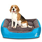 Utotol Dog Beds for Medium Dogs, Washable Pet Sofa Bed Firm Cotton Breathable Soft Couch for Small Puppies Cats Sleeping Orthopedic Beds