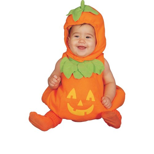 Dress Up America. Calabaza bebé Lindo, Color Surtido, Talla 0-6 Meses (Peso: 3,5-7 kg, Altura: 43-61 cm) (275-0-6)