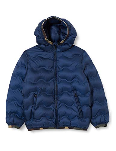 United Colors of Benetton 2AVG53JA0 Giacca, Peacoat 252, XS Bambino