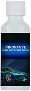 Car Headlight Repair Polish Liquid, 20ml Car Restoration Agent Hydrophobic Glass Coating Headlights Polish Renewal Kit