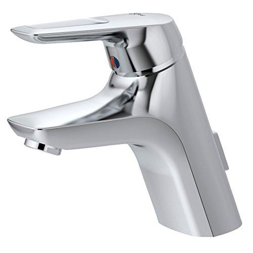 Ideal Standard A5658AA Waschtisch Armatur CeraMix Blue Well mit Durchflussbegrenzer, chrom