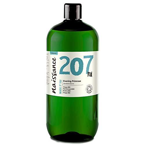 Naissance Huile d'Onagre Certifiée BIO (n° 207) - 1 litre - 100% pure, naturelle et pressée à froid