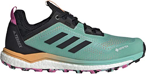 adidas Terrex Agravic Flow GTX W, Zapatillas de Trail Running Mujer, MENACI/NEGBÁS/ROSCHI, 36 2/3 EU