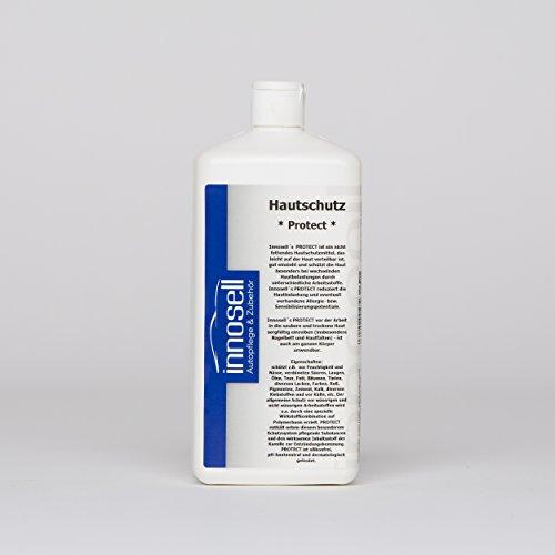 Innosell Hautschutz Flüssighandschuh Protect auf Polymerbasis unsichtbarer Handschuh wasserfest 1 L