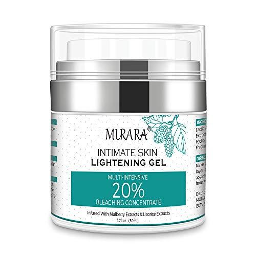 Whitening Cream, Aufhellungspaste for Armpits, Intimate Parts, Face, Effective Lightening Cream for Body - Dark Spot Corrector Brightens, Nourishes, Moisturizes Underarm,...