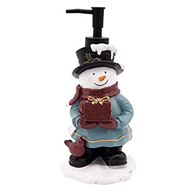 Snowman Liquid Soap Dispenser for Christmas