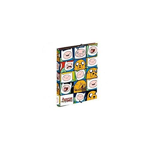 HORA DE AVENTURAS - Carpeta gomas de hora de aventuras puzzle (24/2)
