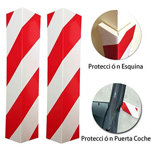 LETACAR Protector Paragolpes Coche, 40 * 15 cm Protector Columnas Garaje, Protección...