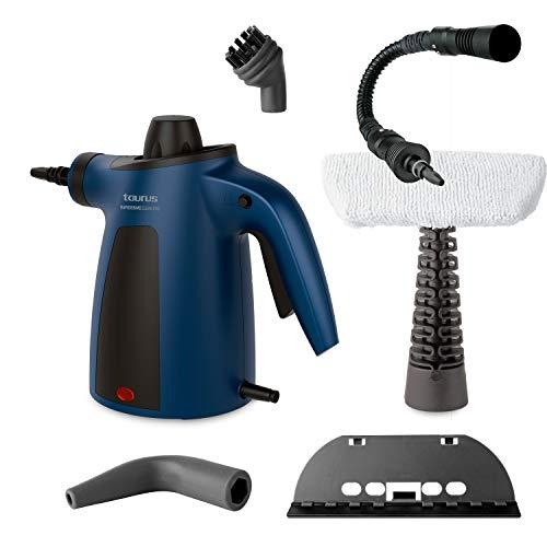 Taurus Rapidissimo Clean Pro Limpiadora de vapor, 1050 W, Plástico, Azul