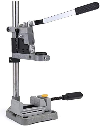 Drill Bits Plunge Power Drilling Stand Holder Bench Pillar Pedestal Clip + Drill Press Vise Cutting Burs Amazing