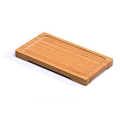 COKAMOZ 1 bandeja de madera para servir alimentos para té, café, decoración del hogar, buffet, catering, sándwiches