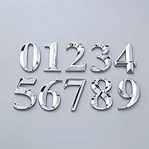 TRJGDCP 3D Grote Grootte Zelfklevende Deur Nummer Teken Nummer Cijfer Appartement Hotel Kantoor Deur Adres Straatnummer St...