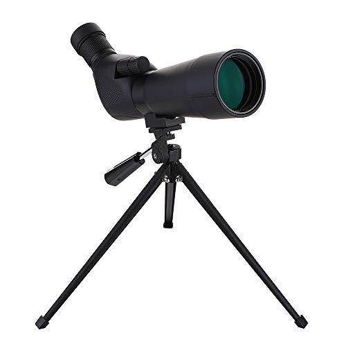 Monoculares, telescopio, Zoom Impermeable, telescopio monocular, Adecuado para Viajes de Adultos y niños, astronómicos, observación de Aves, Exteriores, etc.-20~60x60 mm