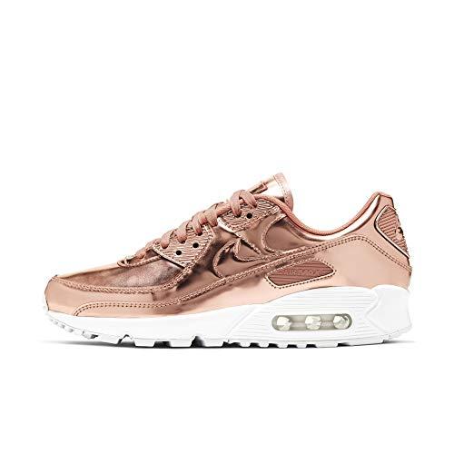 Nike Hombres Air Max 90 Oro rosa - CQ6639 600 - Oro rosa, color Dorado, talla 44 EU