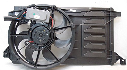 Dual Radiator and Condenser Fan Assembly - Cooling Direct For/Fit MA3115144 10-13 Mazda Mazda3 2.0/2.3/2.5L L4