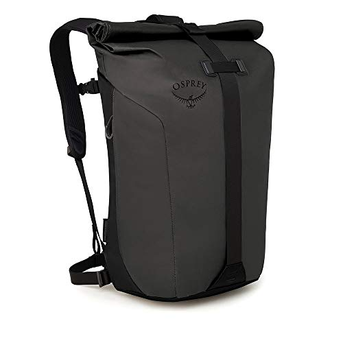 Osprey Packs Transporter Roll Top Laptop Backpack, Black