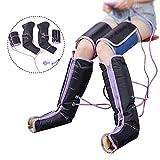 Cocoarm Fußmassagegerät Luftkompressions Beinmassagegerät mit 9 Intensitätsmodi Elektroumlauf Beinwickel Massagegerät für Fußknöchel Waden