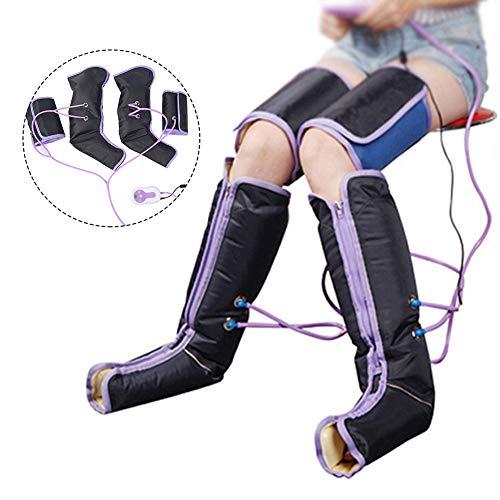 Massaggio gambe a compressione d'aria circolazione elettrica avvolgicavo massaggiatore palmare per caviglia plantare(EU)