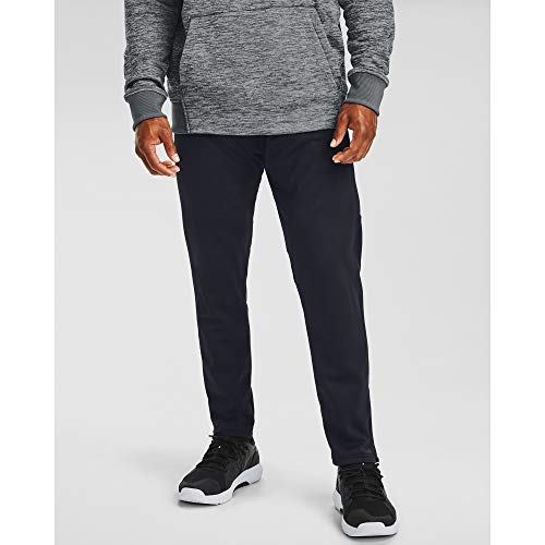 Under Armour Men's Armour Fleece Pants , Black (001)/Black , Medium