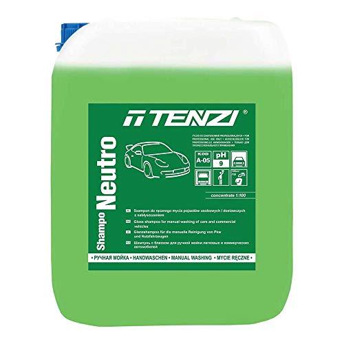 Tenzi limpiador de carrocería para coches TZ-Shamponeutro10 Car Line, 10 L