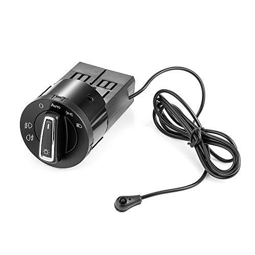 Interruptor de faros del coche para G & OLFM & K4G & OLFM & K5L & Idsensor Module para V & Olkswageng & Olfm & K4P & ASSATP & OLOB & ORAB & EETLETT & Ouran & Ouran & Ouran Botón de interruptor de piez