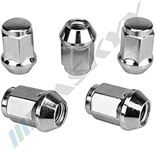 10 Boulons de Roue Chrome M14x1,5 Schaftl/änge 34mm Boule R12 Conique Arrondi SW17