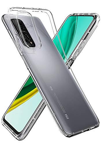 Spigen Liquid Crystal Hülle Kompatibel mit Xiaomi Mi 10T, Mi 10T Pro -Crystal Clear