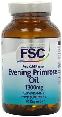 FSC 1300mg Evening Primrose Oil - Pack of 60 Capsules
