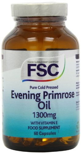 FSC Evening Primrose Oil 1300mg 60 Capsules