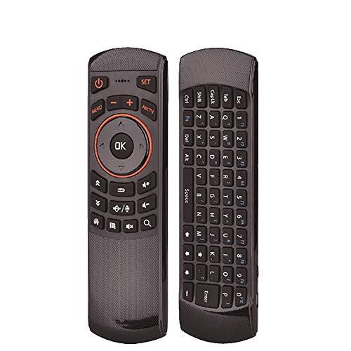 GALEI Controlador Remoto inalámbrico de Voz de 2.4Ghz Air Mouse Giroscopio Incorporado para un fácil Control de Smart TV, Android TV Box, PC y más Dispositivos