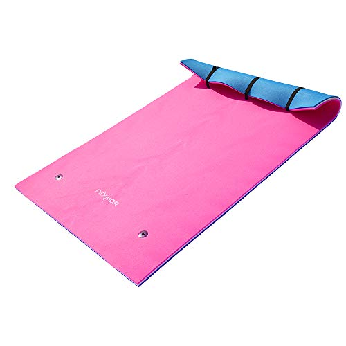 PEXMOR 9 FT X 6 FT Floating Mat, Water Foam Pad Water Recreation and Relaxing for Pool Beach Lake...