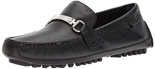 Cole Haan Men's Provincetown BIT Driver II Loafer, Black Pebbled, 11 Medium US