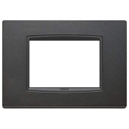 Vimar 20653.15 Eikon Placca Classic 3 Moduli antracite matt