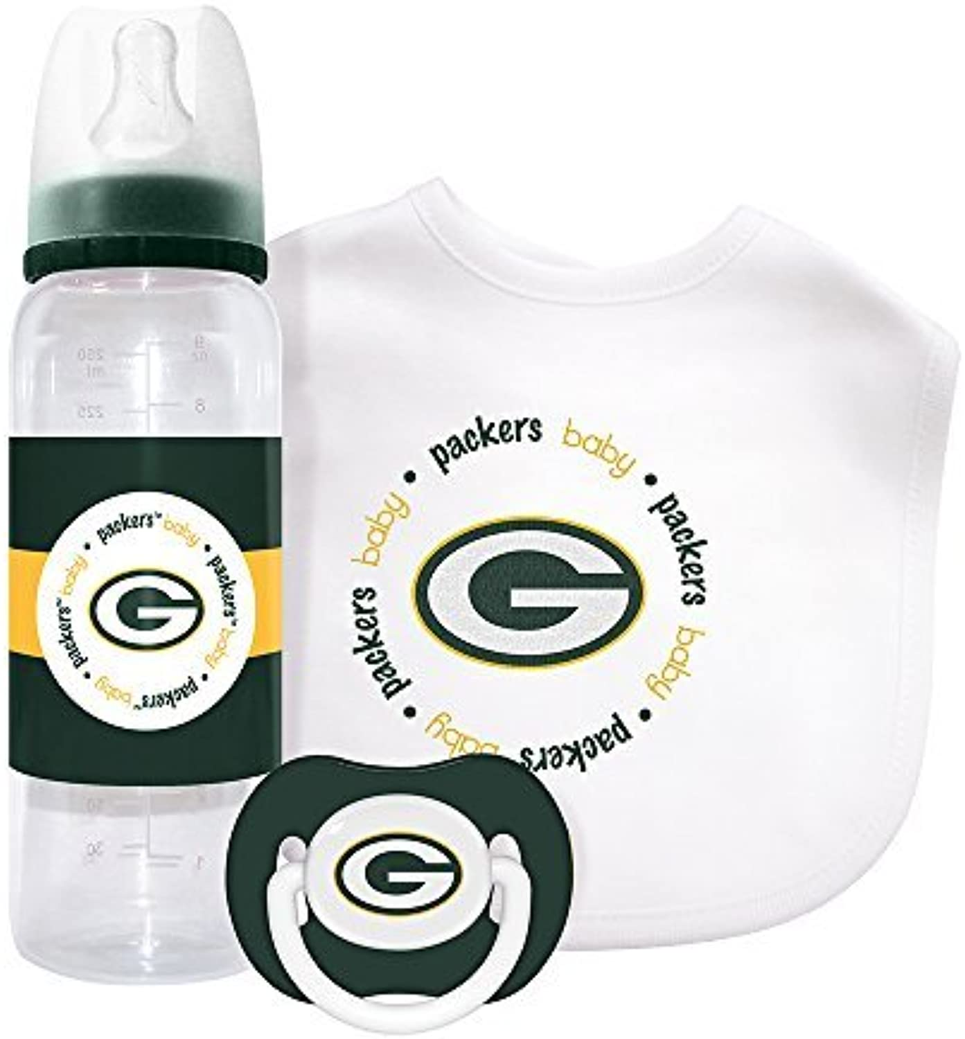 Baby Fanatic Gift Set - Green Bay Packers by Baby Fanatic