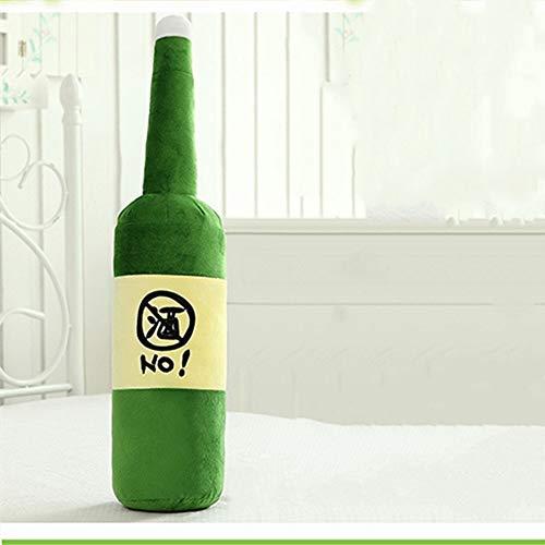 Phosphor Give boys a gift pillow creative plush toy large nap wine bottle cushion doll birthday