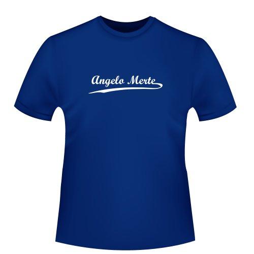 Angelo Merte, Herren T-Shirt - Fairtrade, Größe XXL, Royalblau