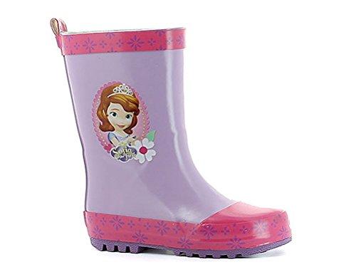 Disney - Botas de Caucho para niña Morado morado, color Morado, talla 30 EU