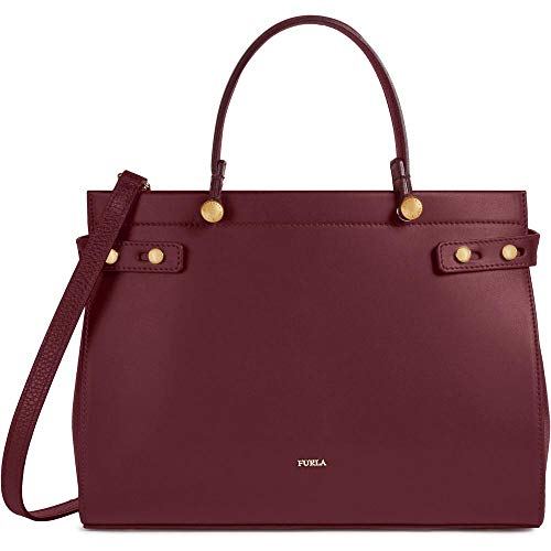 FURLA Lady M Tote Bag In Ribes