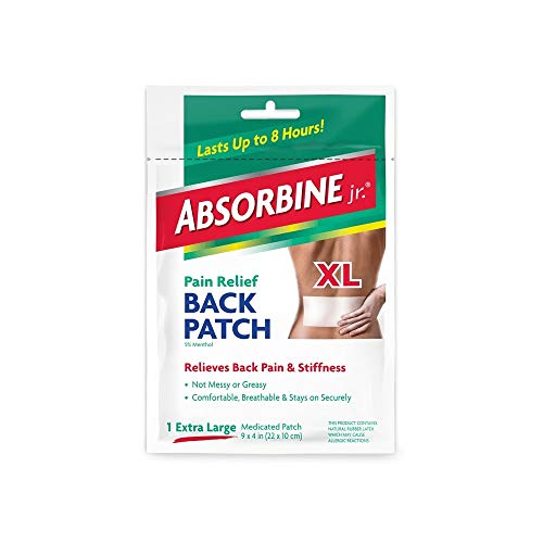 (Pack of 8) Absorbine Plus Jr, Pain Relief Back...