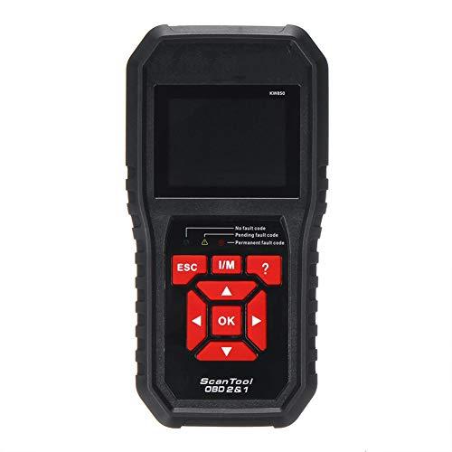 OBD II Fahrzeug Check Engine Light-Scan-Werkzeug, Auto-Scanner Universal-OBD Maschinen-Codeleser-Auto-Diagnosescan-Werkzeug Mit TFT-Farbbildschirm