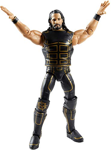 WWE Seth Rollins Fan Takeover 6 in Elite Action Figure with Fanvoted Gear and Accessories 6 in Posable Collectible Gift Fans Ages 8 Years Old and Up