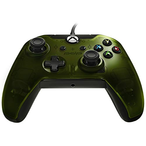PDP Wired Controller for Xbox One, Xbox One X and Xbox One S, Verdant Green