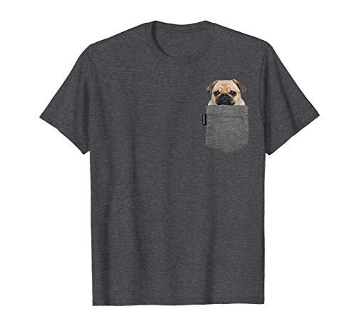 Hund in der Tasche TShirt MOPS Shirt