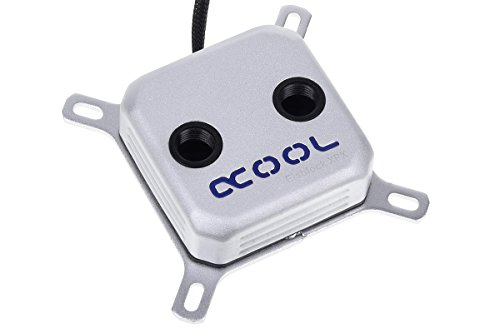 Alphacool 12564 Eisblock XPX CPU - Intel/AMD - Silber Matt Wasserkühlung CPU - Kühler
